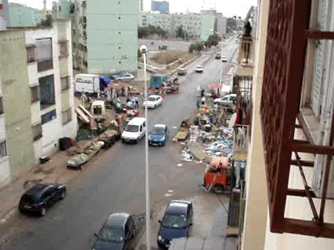 Marché informel à Oran