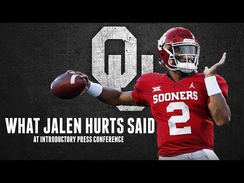 RECAP: Jalen Hurts Presser And Oklahoma Sooners Football Spring Practice Subscriber Chat