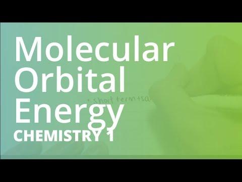 Molecular Orbital Energy Diagrams Chemistry Chem101 Youtube
