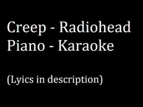Creep (Radiohead) Piano (Karaoke)