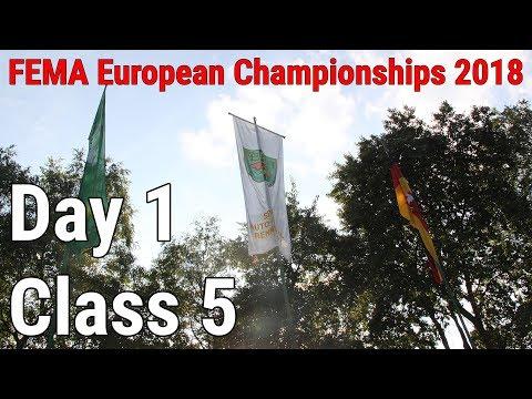 67th FEMA European Championships 2018 | Day 1 - Class 5 (10cc)