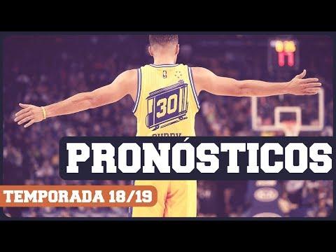 PRONÓSTICOS NBA temporada regular 2018-2019