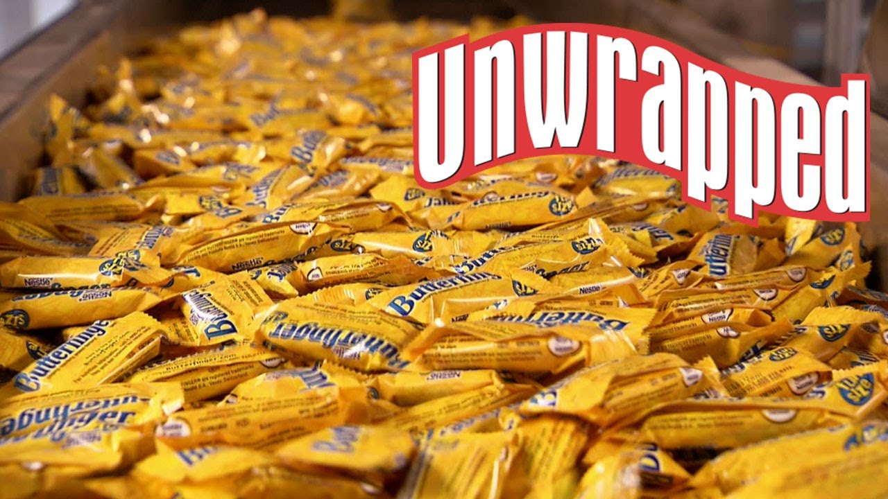 Download The Secret to Making Butterfingers (from Unwrapped) | Unwrapped | Food Network
