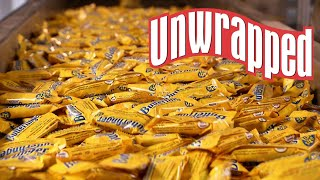 The Secret to Making Butterfingers (from Unwrapped) | Food Network