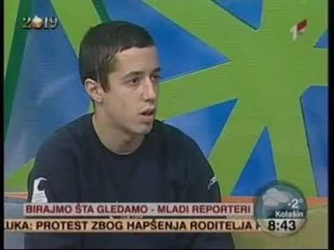 26. decembar 2018. Televizija Crne Gore, prvi program, Kampanja Birajmo šta gledamo