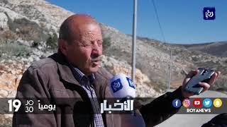 الاستيطان يبتلع أكثر من ثلثي اراضي قرية بورين جنوب مدينة نابلس - (27-12-2017)