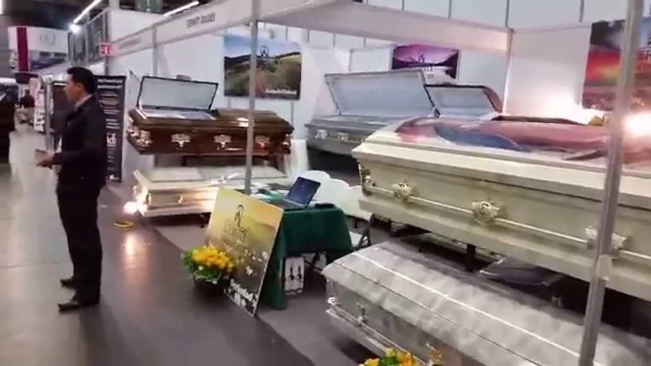 Ataudes Eternity En Expo Funeraria Guadalajara 2015 Youtube