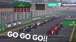 A SHOCK RESULT!! (F1 2018 Career Mode - Australia | R1 | S1)