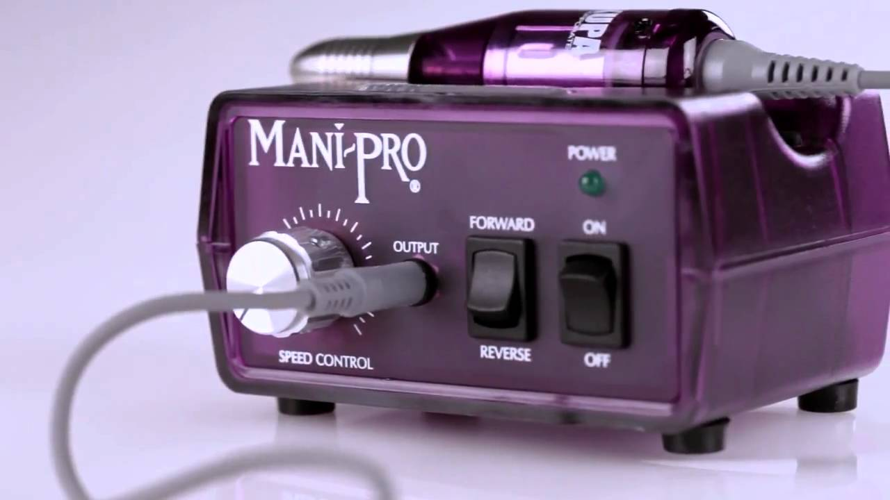 KUPA Inc. Presents The MANIPro Original Electric Nail File Machine ...