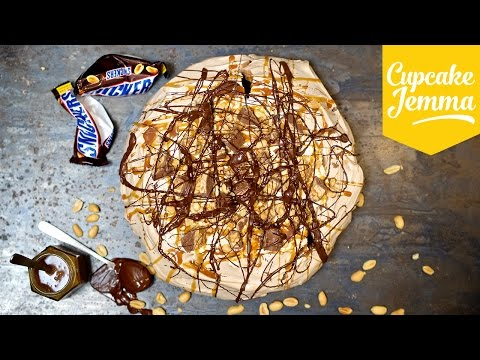 Make How to Make a Filthy Snickers Pavlova | Cupcake Jemma Snapshots
