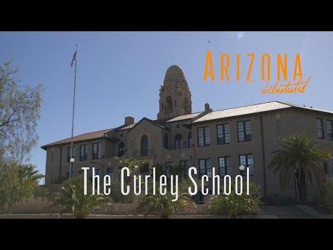 The Curley School in Ajo, Arizona
