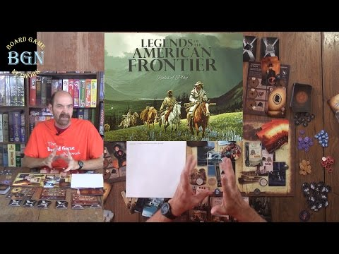 How to Play Legends of the American Frontier board game