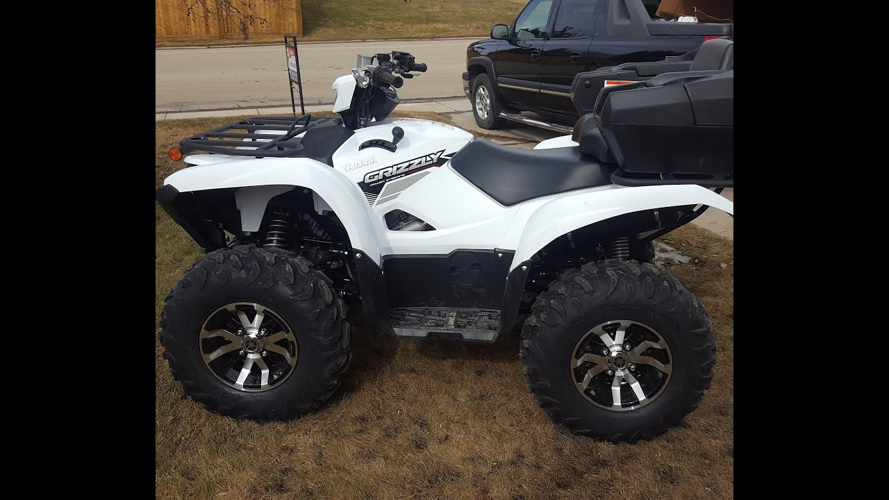 hight resolution of 2017 yamaha grizzly winch install warn vantage 3000 part one