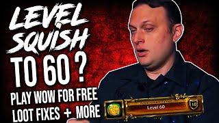 WoW News: Dev Q&A REVEALS Possible Level Squish, XP Potion Bans, MDI & More