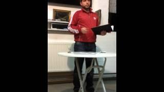 Besprechung Hilal Spor Alzey 2017 Video