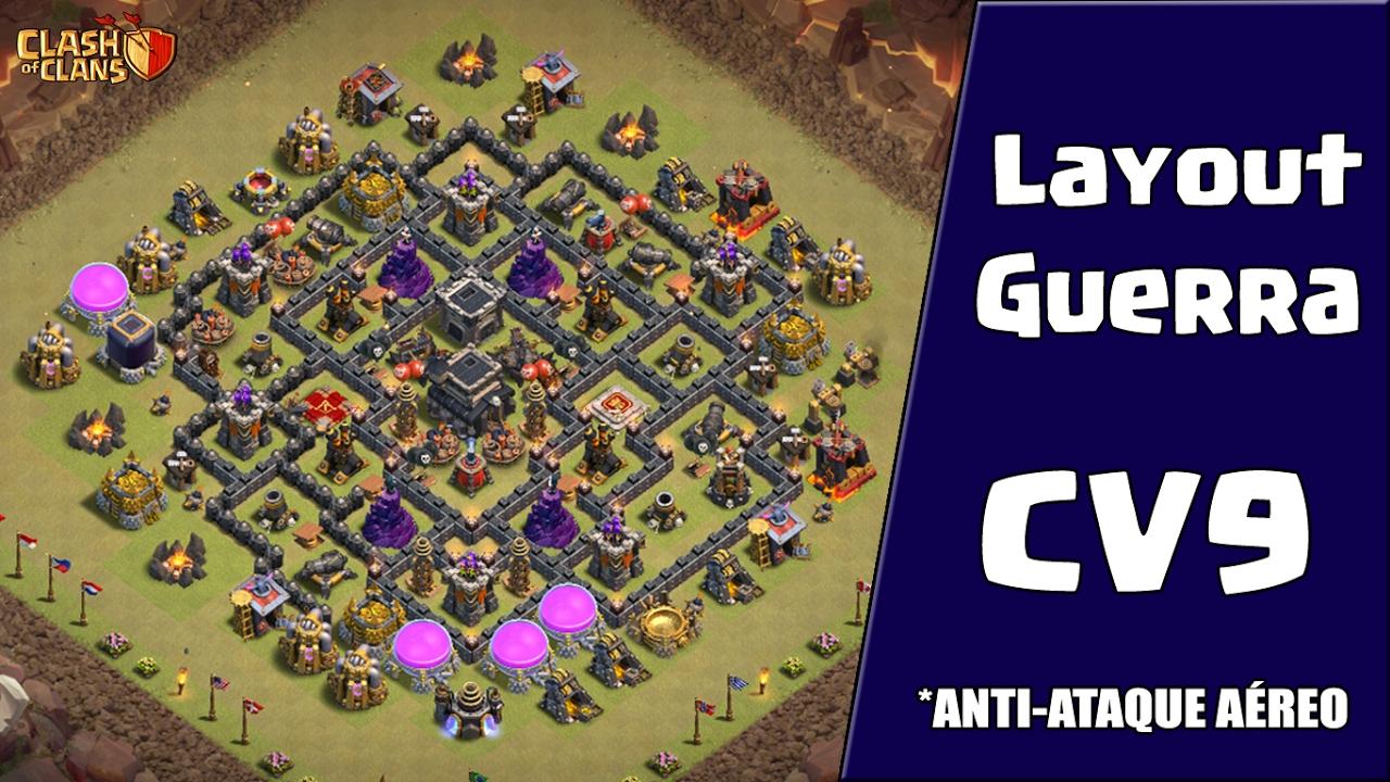 layout de guerra para cv9  anti ataques a u00c9reos