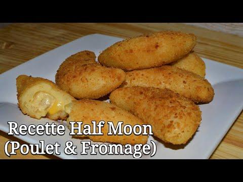 recette-half-moon-(poulet-et-fromage)-en-français