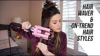 Using a Hair Waver for On-Trend Hairstyles!