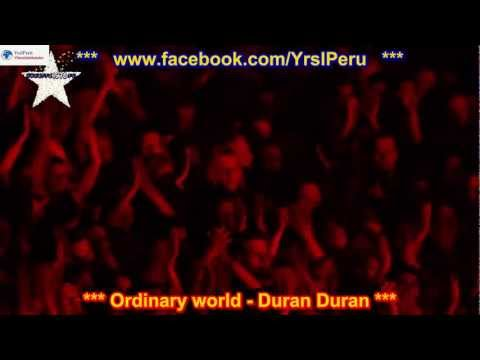 Ordinary World -Duran Duran SUBTITULADO EN ESPAÑOL E INGLES LYRICS SUB LETRAS