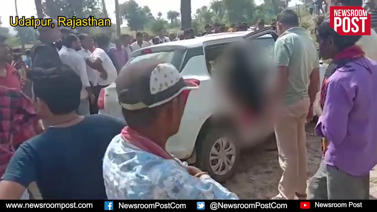 horrifying road accident in rajasthan 8 people dead - youtube