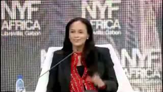 Entrevista de Isabel dos Santos no New York Forum Africa II