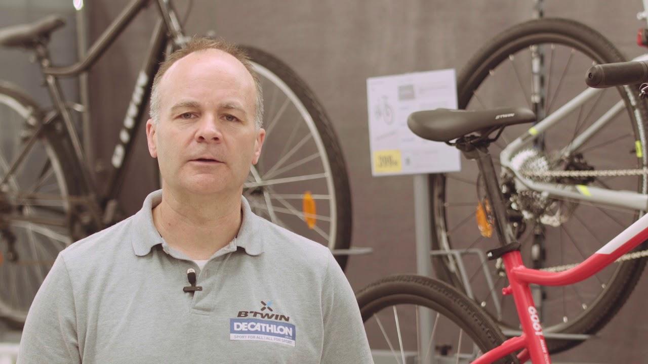 Decathlon Uk Advice How To Choose Your Hybrid Bike Youtube