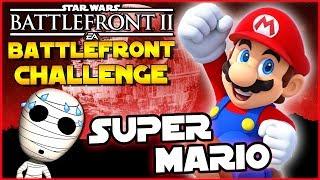 Super Mario Challenge! - Battlefront Challenge #28 - Star Wars Battlefront 2 Loadout Challenge