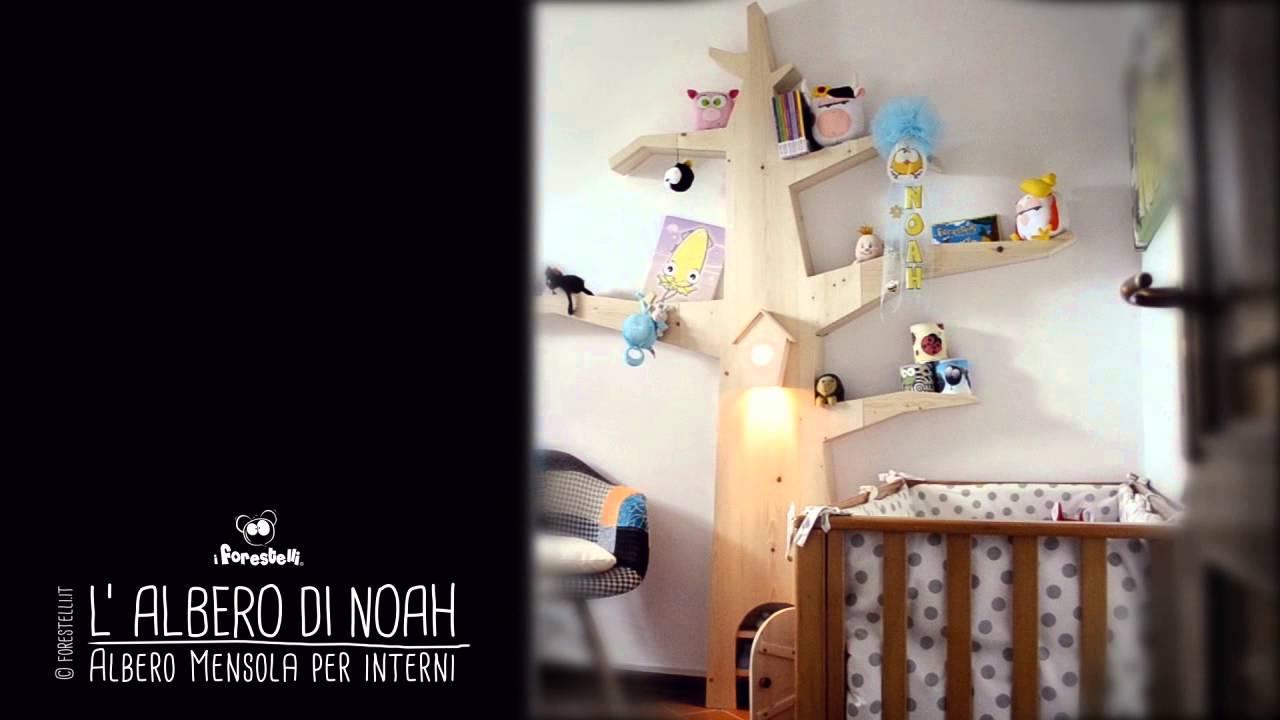 Stanza da letto, mobili, arredamento d'interni, case, forma. Albero Mensola Per Arredare Le Camerette Dei Bambini Youtube