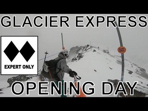 Whistler Blackcomb December 18th | Glacier Express Season Opening | SZM (60fps)