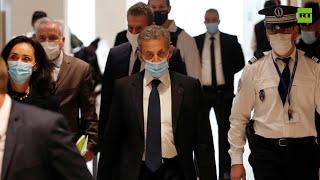 Paris court sentences ex-president Sarkozy to a year in prison