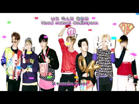 온몸이 반응해 (My Whole Body Reacts) - GOT7 [Sub. Esp + Hangul + Romanización]