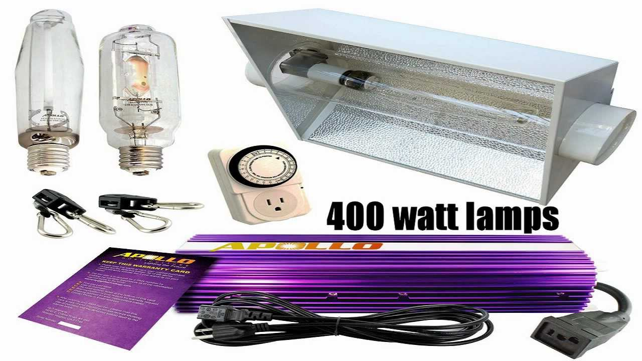 Grow lights review what grow lights are good for indoor for Indoor gardening lighting guide