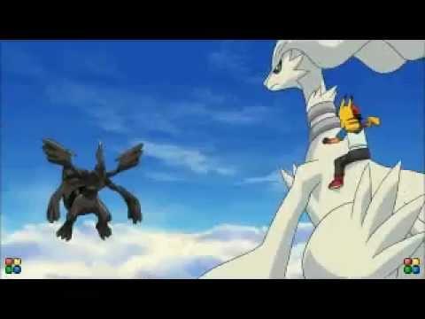 Pokemon Movie 14 Black Victini And Reshiram Trailer Youtube