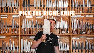 The Ultimate Guide to Picking The Perfect Kitchen Knife