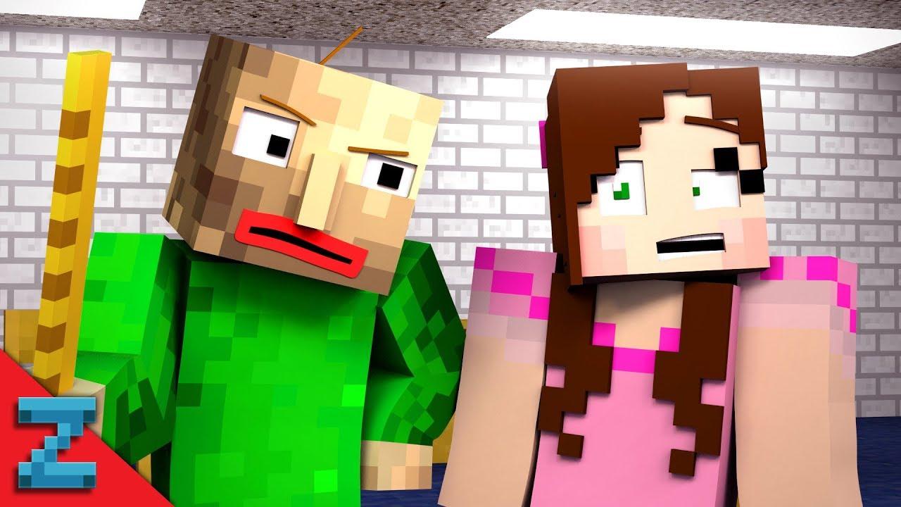 Popularmmos Baldi S Basics Hide And Seek Minecraft