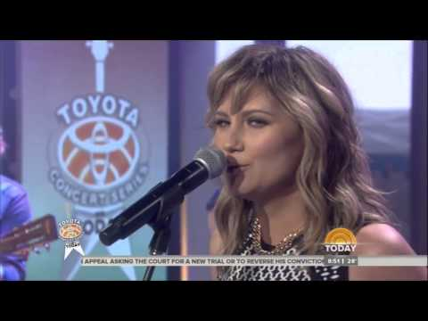 Jennifer Nettles Performs Falling on Today Show _ LIVE 1-14-14