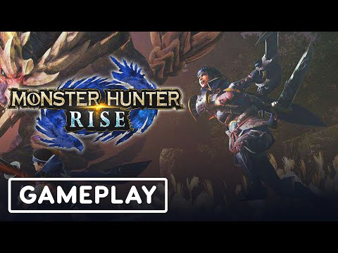 21 Minutes of Monster Hunter Rise Dual Blades Gameplay | TGS 2020