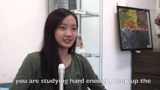 NYJC 2015 A Level exam results  - an interview with Kah Mun