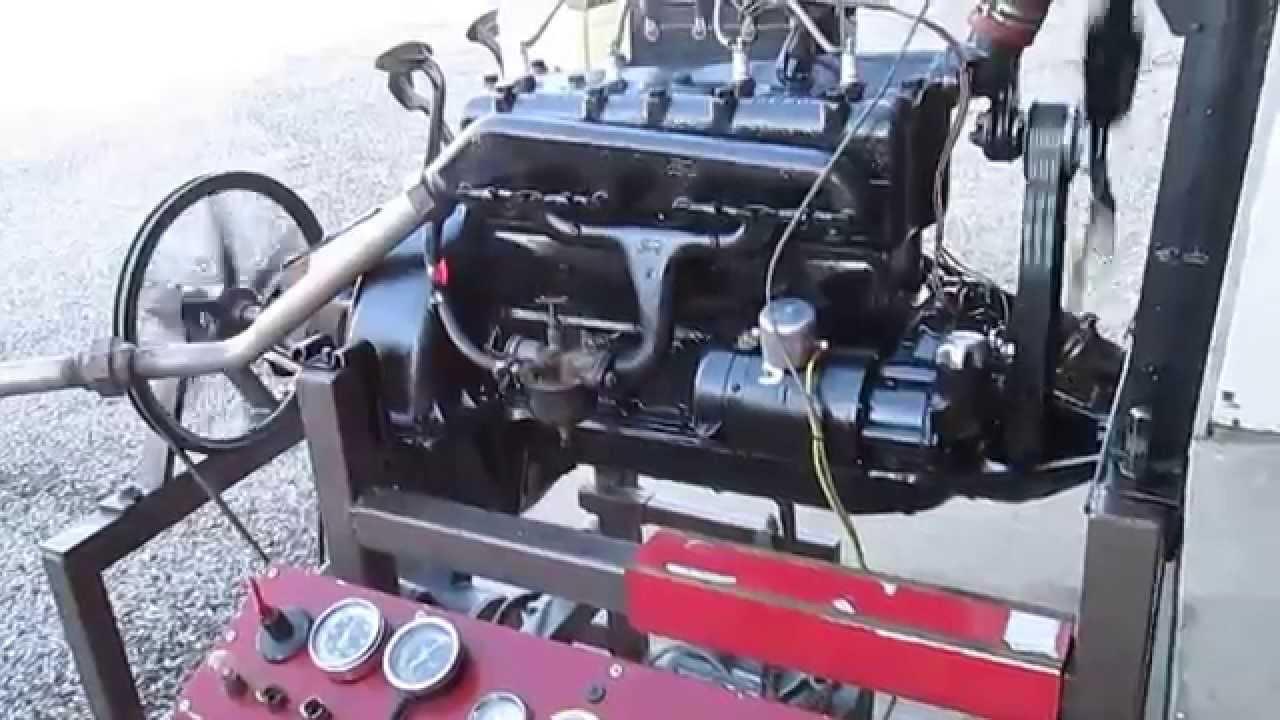 1922 Ford Model T Speedster Engine Youtube