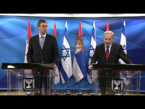PM Netanyahu's meeting with Serbian PM Aleksandar Vučić