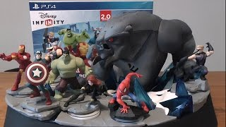 Disney Infinity 2.0 Marvel Super Heroes Collectors Edition UNBOXING