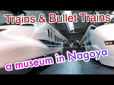 Alexandra's Japan Vlog #077 - SCMaglev and railway Park Nagoya