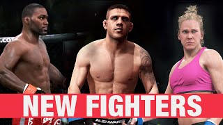 EA SPORTS UFC - NEW DLC Fighters ft. Dos Anjos, Rumble, Holly Holm and Eddie Alvarez