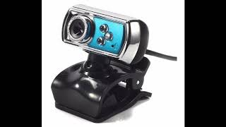 12MP HD web camera. Budget webcam from China.