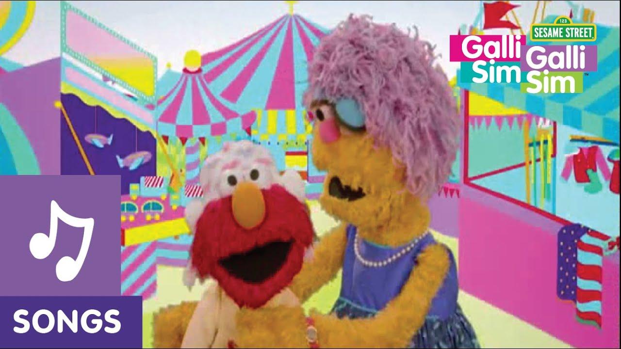 Galli Galli Sim Sim - Songs | Elmo chooses between his Needs and Wants