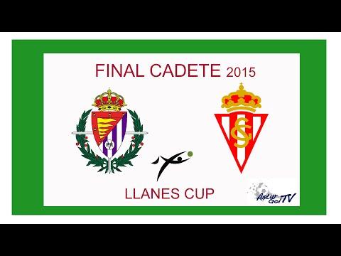 Asturgoltv / Real Valladolid vs Spoting de Gijón Final Llanes Cup Cadete / 14-06-2015