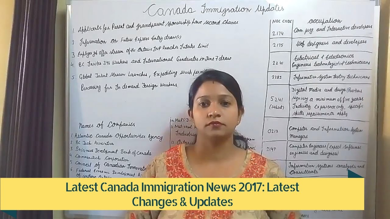 Canada Immigration News 2017: Latest Changes & Updates #Part-4