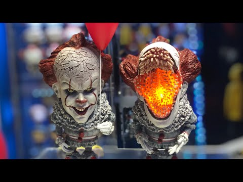 STAR ACE IT MOVIE 2017 PENNYWISE THE CLOWN REVIEW AND DEADLIGHTS VERSION REVIEW
