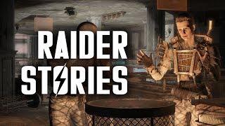 Raider Stories: Motorcycle Grenade Guy, Burning Mattress Kid, & Hardware Town - Fallout 4 Lore