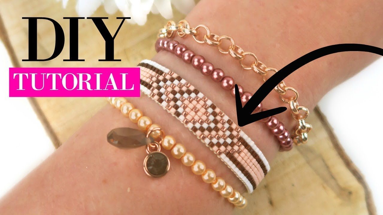 How To Make A Woven Beadloom Bracelet With Miyuki Beads